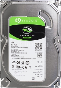 Жесткий диск SEAGATE Barracuda ST1000DM010, 1Тб, HDD, SATA III, 3.5