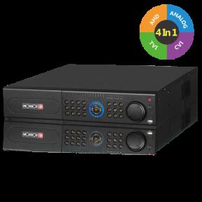 32-канальный гибридный AHD видеорегистратор SA-32400A-2(2U)