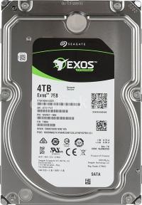 Жесткий диск SEAGATE Exos ST4000NM0035, 4Тб, HDD, SATA III,