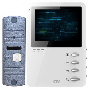 CTV-DP1400M Комплект видеодомофона