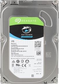 Жесткий диск SEAGATE Skyhawk ST1000VX005, 1Тб, HDD, SATA III, 3.5