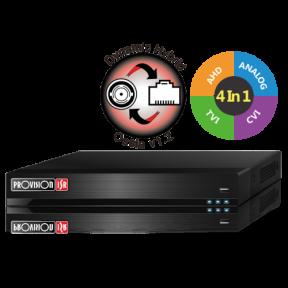 4-х канальный гибридный AHD видеорегистратор SH-4100A-2L