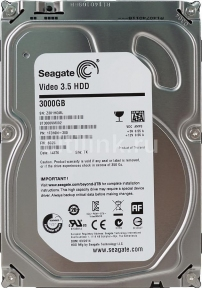 Жесткий диск SEAGATE Video ST3000VM002, 3Тб, HDD, SATA III, 3.5