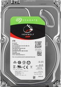 Жесткий диск SEAGATE Ironwolf ST4000VN008, 4Тб, HDD, SATA III, 3.5