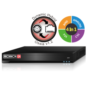 16-канальный гибридный AHD видеорегистратор SH-16400A-2L